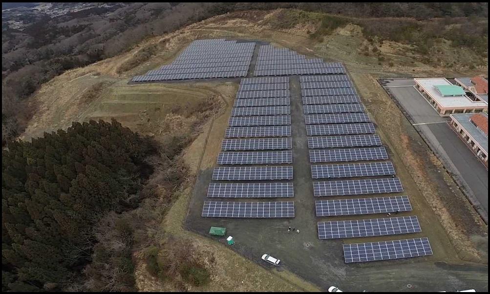 SOLAR ENERGY 北茨城森 太陽光発電所