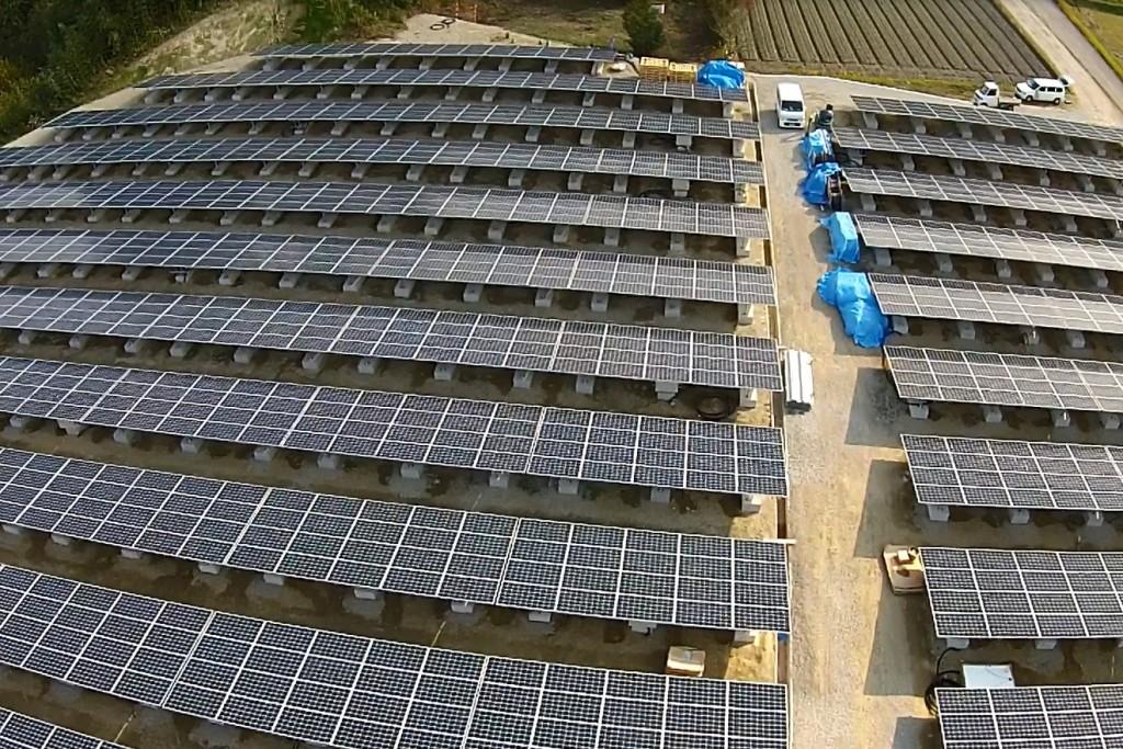 SOLAR ENERGY 綾川 太陽光発電所