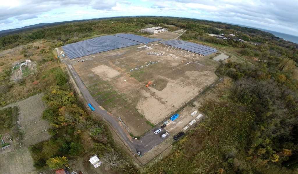 SOLAR ENERGY 珠洲 太陽光発電所