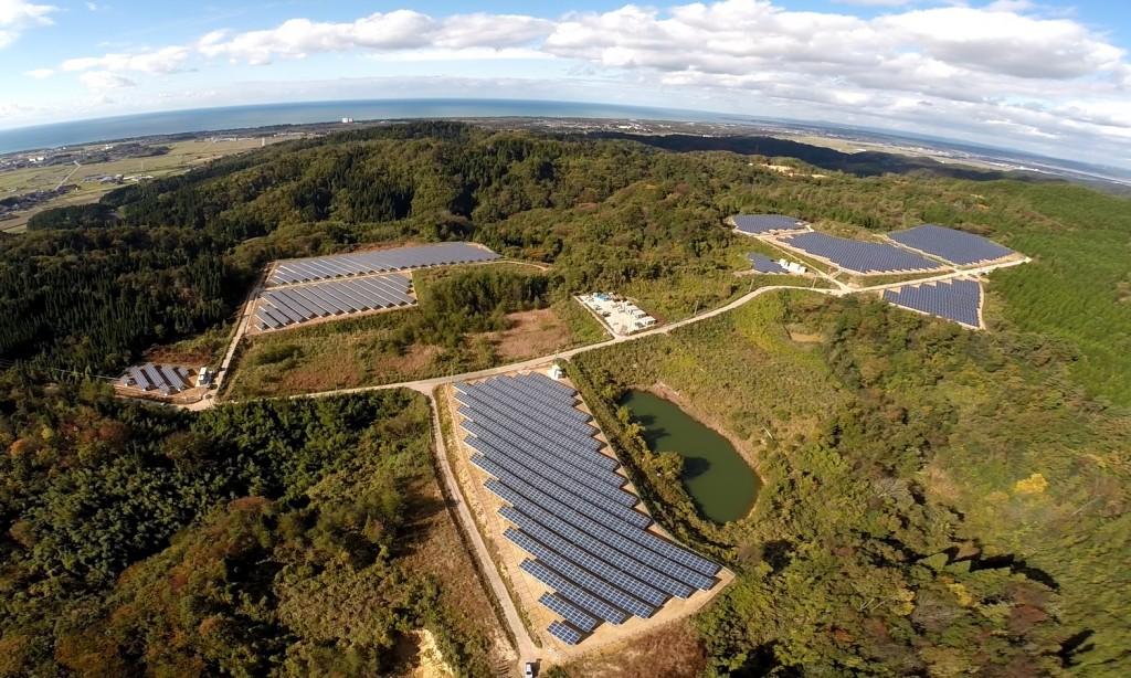 SOLAR ENERGY 宝達 太陽光発電所